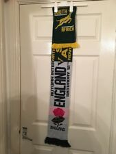 England South Africa Rugby Scarf 2016 @ Twickenham - Used Once Perfect