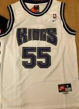 Sacramento Kings Jason Williams #55 Men's Stitched Throwback White Jersey