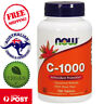 Now Foods - Vitamin C-1000 - 100 Tablets - Sustained Release w/ Rose Hip - Vegan