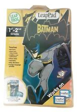 Leap Frog Leap Pad The Batman Multi-Subject 1ST - 2ND GRADE New With Damage Pack