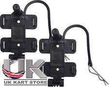 AMB 160 / 260 standard & Flex TRANSPONDER Holder con clip R X 2 UK KART Store