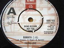 "YOUNG LOVE - RAMAYA  7"" VINYL DEMO"