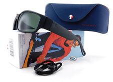 New Vuarnet Rider Sunglasses | VL1621 0002 - Matte Black / Pure Grey Glass Lens