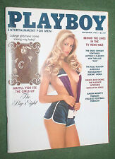 Playboy Sept 1982 Girls of the Big 8 Arthur C Clarke Cheech & Chong interview