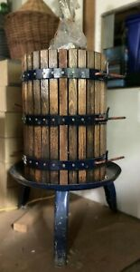 Wine Grape / Cider Basket Press