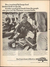 1968 Vintage ad for Thermos`Retro Photo Norwich,Conn 071817