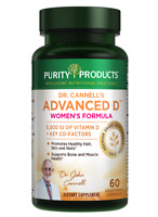 Dr. Cannell's Advanced Vitamin D Women's Formula | By Purity Products