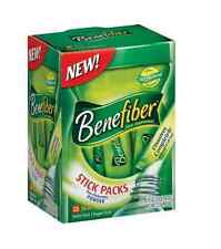 Benefiber Fiber Sugar-Free On the Go Stick Packs, Unflavored, 28 ea