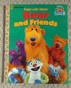 Paint with Water : Bear and Friends (Paperback, 1999) Golden, Big Blue House