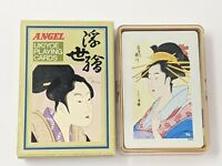 Angel Ukiyoe Playing Cards, Vintage Made In Japan, Beautiful Set Of Cards