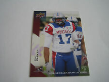 2014 UPPER DECK CFL FOOTBALL BILLY PARKER CARD #127***MONTREAL ALOUETTES***