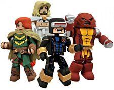 MiniMates Avengers vs. X-Men Minifigure 4-Pack [Emma Frost, Cyclops, Colossus]
