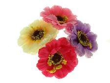 Coloured Flower Bun Garland Scrunchie Elastic Hair Accessories UK