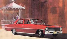 1967 CHEVROLET Chevy II Nova 4-Door Sedan General Motors USA Advertising