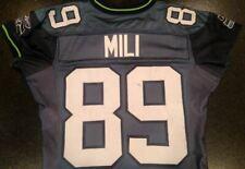 Seattle Seahawks Team Issued Itula Mili 2002 Reebok Jersey Game Worn/Used