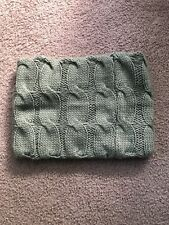 Llbean Cowl Scarf, Gray Knitted