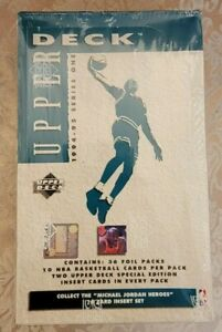 Factory Sealed 1994-95 Upper Deck Basketball Series 2 Hobby Green Box