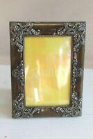 Z Gallerie 5X7 Enamel Bijou Crystal Rhinestone Cast Metal 5.5 X 3.5 Image Size