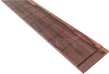 """Madagascar rosewood guitar fretboard, fingerboard 25.5"""" Fender ® slotted R12"""""""