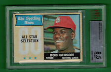 1968 TOPPS BOB GIBSON ALL-STAR #378 BVG 8.5 NM-MT+ CARDINALS