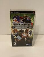 Sega Genesis Collection (Sony PSP, 2006) - Complete in Box - TESTED