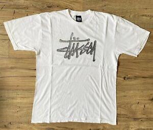 Stussy Cotton Logo T-shirt Size M