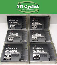 Lot of 7-IMATION MC 3000 XL Minicartridge Compatible-QIC 3020 3040 3050 New!