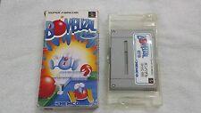 BOMBUZAL, Nintendo Super Disk, SFC, Japanese/Jap/Import/JP