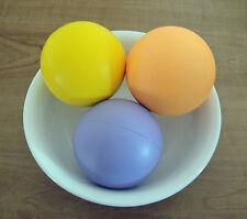 6 ORANGE Foam Stress Balls