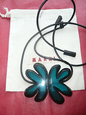 BEAUTIFUL BLACK GREEN MARNI NECKLACE - NEW DUSTBAG
