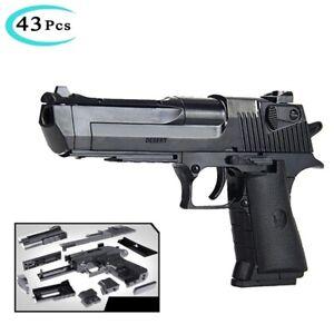 Toy gun Pistol Military Gun Kids Toy children Revolver Assembled Building Block