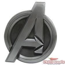 Marvel comics AVENGERS SHIELD LOGO metal/steel Men's unisex cosplay Belt Buckle