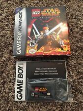 LEGO Star Wars: The Video Game (Nintendo Game Boy Advance 2005) Box w/o instruct