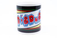Dig Dug Video Game 11oz Coffee Mug Sublimated Retro 80s Arcade
