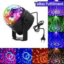 LED Magic Ball RGB Stimmenkontrolle Bühnenlicht Club Rotierende Disco Party DJ