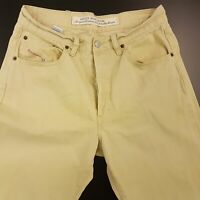 Diesel CHEYENNE Mens Jeans W32 L28 Beige Regular Fit Straight High Rise