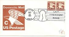 US FDC #1947 C Rate Eagle Pair Unofficial, Andrews (8198)
