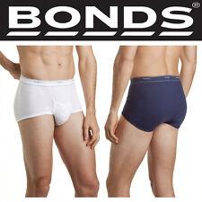 Authentic Bonds 3 Pack Mens S'port Support Brief Cotton Underwear Boxer Trunk