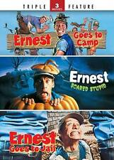 Ernest Goes to Camp/Ernest Scared Stupid/Ernest Goes to Jail (DVD, 2011,...