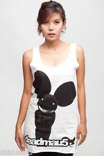 Deadmau5 Electronica DJ Hip Hop Dance oo WOMEN TANK TOP T-SHIRT Dress Size S M