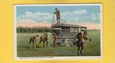 Wireless Auto Truck and Outfit, U.S.Army