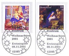 BRD 2001: Weihnachten Nr 2226+2227 mit Berliner Ersttags-Sonderstempeln! 1A 1606