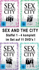 11 DVDs * SEX AND THE CITY : STAFFEL / SEASON 1 - 4 # NEU OVP +