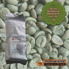 Caffè Verde in Grani Nicaragua Matagalpa El Baron 1 Kg - Caffè Arabica 100%