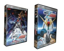 Mobile Suit Zeta Gundam: The Complete Collection 1 &2  (DVD, 10-Disc Set)