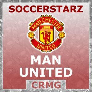CRMG SoccerStarz MANCHESTER UNITED (CHEVROLET) 2014-17 MAN UTD (like MicroStars)