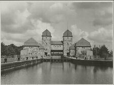 """Original FOTO MINDEN Schachtschleuse 1937 """"Schleuse"""""""