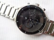 *NEW WATCH*GENUINE BLACK DIAL FASTRACK QUARTZ MENS CHRONOGRAPH WATCH