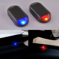 Fake Solar Car Alarm Led Light Security System Warning Theft Flash Accessories