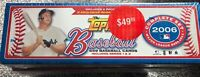 2006 Topps Baseball Complete Set - Hobby Set - Sealed 659 Cards - Mickey Mantle